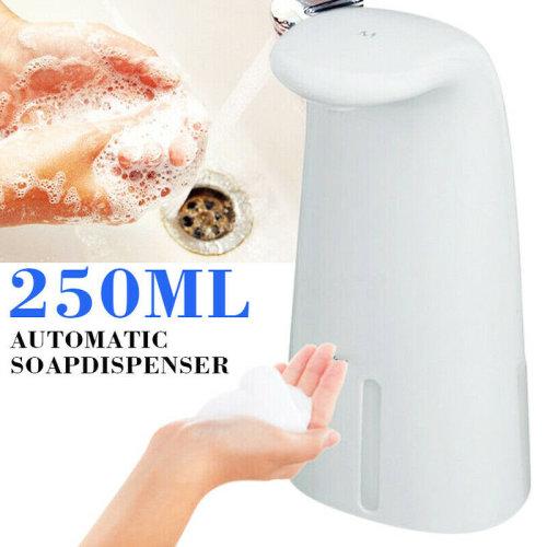 250ml Automatic Sensor Soap Dispenser Touchless Liquid Hand Washer Sanitizer