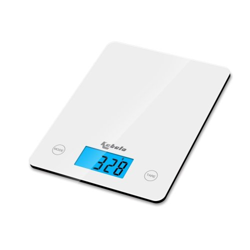 Kabalo White Kitchen Household Food Cooking Weighing Scale 5kg capacity 5000g/1g