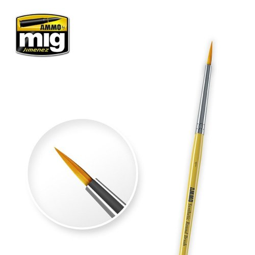Ammo by Mig - Synthetic Round Brush Size 1