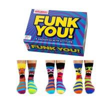 United Oddsocks Funk You Box of 6 Colourful Mens Oddsocks UK 6- 11