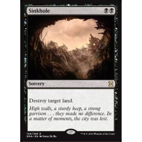 Magic the Gathering Sinkhole 106249 Eternal Masters