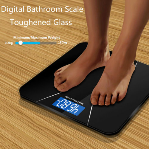 Digital Electronic Scale Toughened Glass Bodys Measures Weight