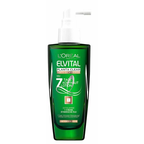 L'Oreal Elvital Planta anti schuppen 7 Tage Kopfhaut lotion Octolamine