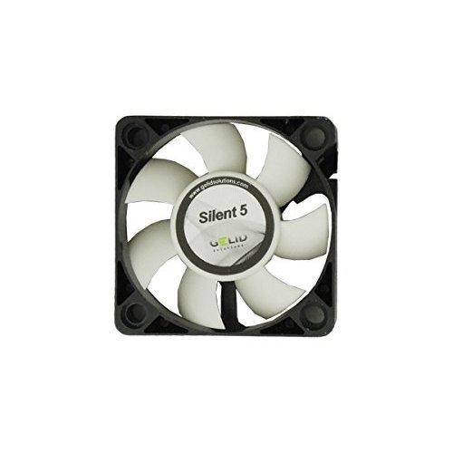 Gelid Silent 5 Case Fan 50 x 50 x 15 mm Hydro Dynamic Bearing 12 V 4000 rpm 23 dBA 3 Pin Molex CE RoHS