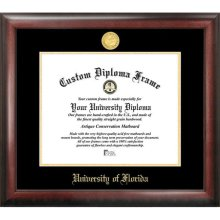 University of Florida Gold Embossed Diploma Frame