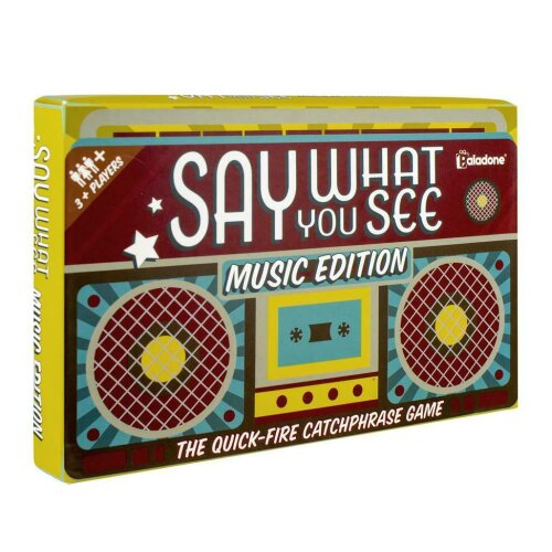 Say What You See Music Trivia Guessing Shout Out Loud Quiz Game Catchphrase