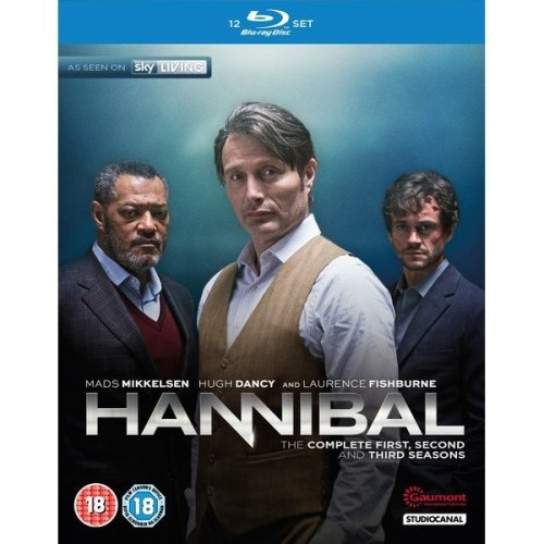 Hannibal Seasons 1 to 3 Complete Collection Blu-Ray [2015]