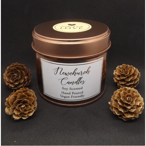 (Meditation) Rose Gold Candles 250ml - Soy Wax