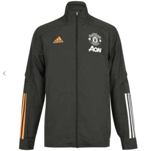 Manchester United Green Presentation Jacket 2020/21