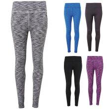 TriDri Womens Performance Gym Running Sports Fitness Workout Leggings Pants