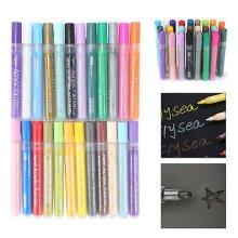 24Pcs Paint Marker Pen Sets For Art Paint Pens Rock Glass Pebbles