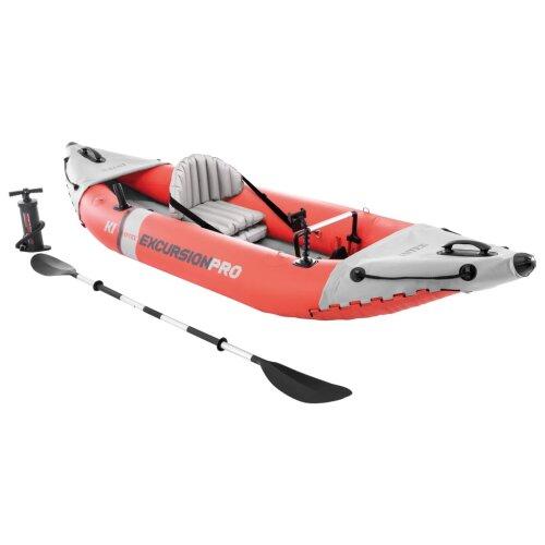Intex Inflatable Kayak Outdoor Water Sport Fishing Rowing Raft Canoe Dinghy