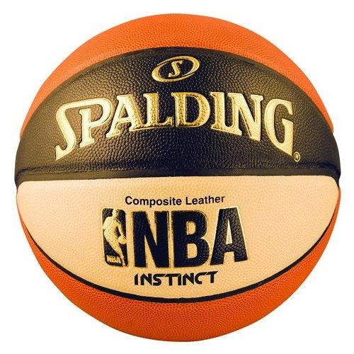 Spalding MenS Nba Instinct Basketball, Orange/Black/Oatmeal, Size 7 (29.5-Inch)