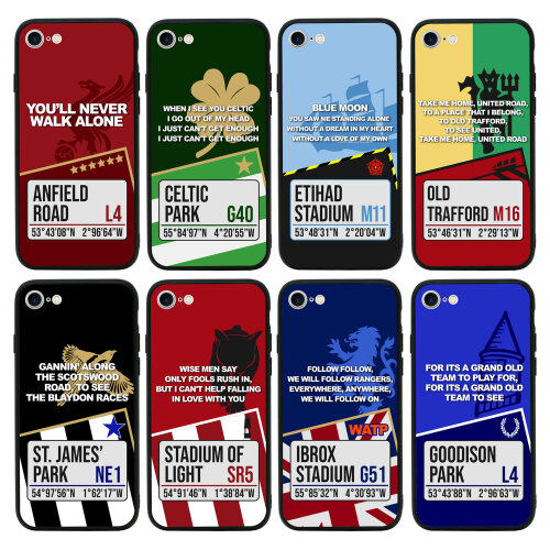 Football Identity Phone Case Extra Strong Tempered Glass Protective Bumper Cover