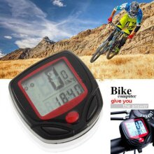 Digital Waterproof Bike Computer Cycle Meter Bicycle Odometer Wired