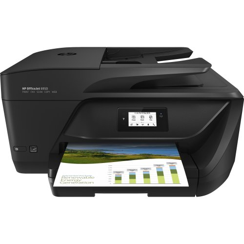 HP OfficeJet 6950 All-In-One Printer - Black