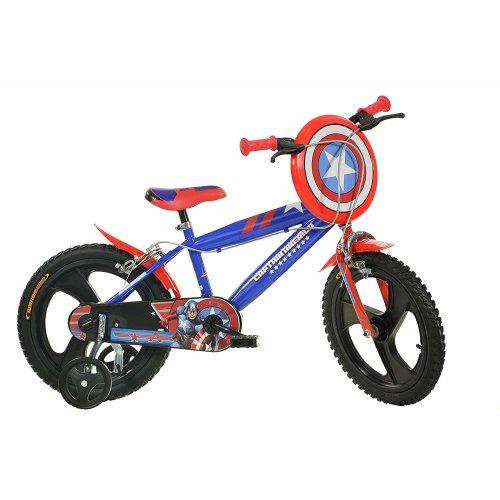"(14"" Wheel) Captain America Shield Bike | Children's Bicycle"