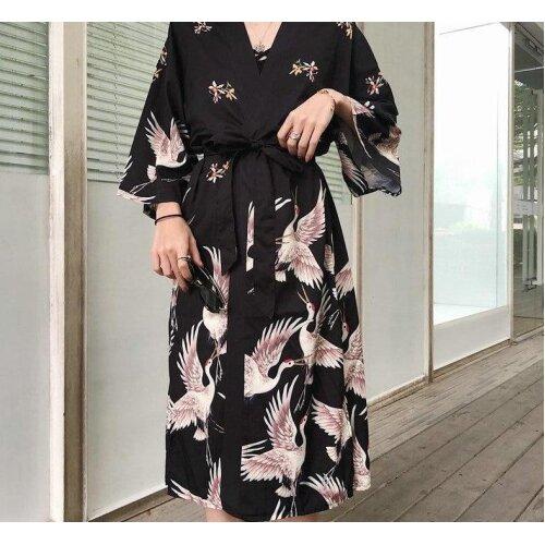 Japanese Kimono Traditional Woman