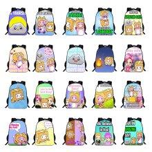 Lankybox Backpack Cartoon Schoolbag Student Bag