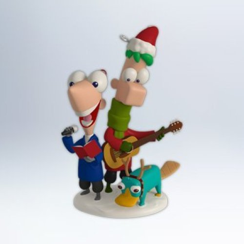 1 X Perry Christmas Phineas and Ferb 2012 Hallmark Ornament