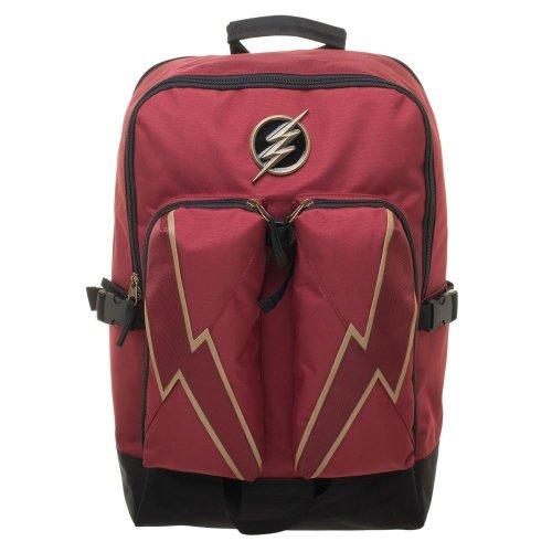 Backpack - DC Comics - Flash Double Pocket New bp7lksfla