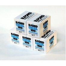5x Ilford 1780624 photo film in black and white 36 shots