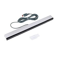 CAVN New Replacement Wired Infrared Ray Sensor Bar Compatible Nintendo Wii and Wii U Console