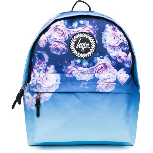 Hype Rose Fade Backpack Bag Blue