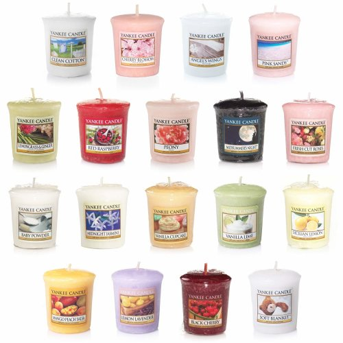 Yankee Candle - 18 x Mixed Fragrance Sampler/Votives