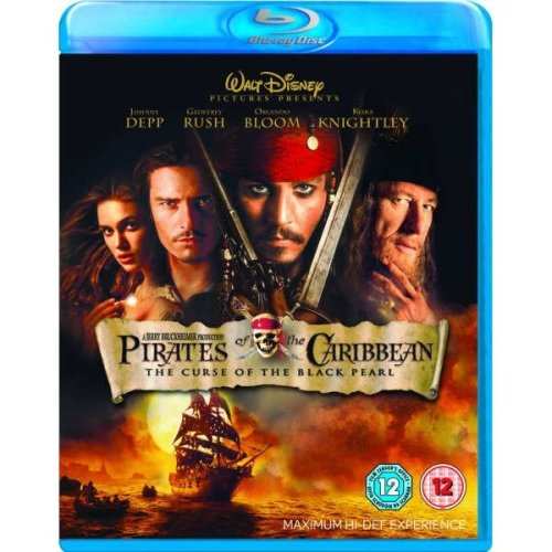 Pirates Of The Caribbean - The Curse Of The Black Pearl Blu-Ray [2007]
