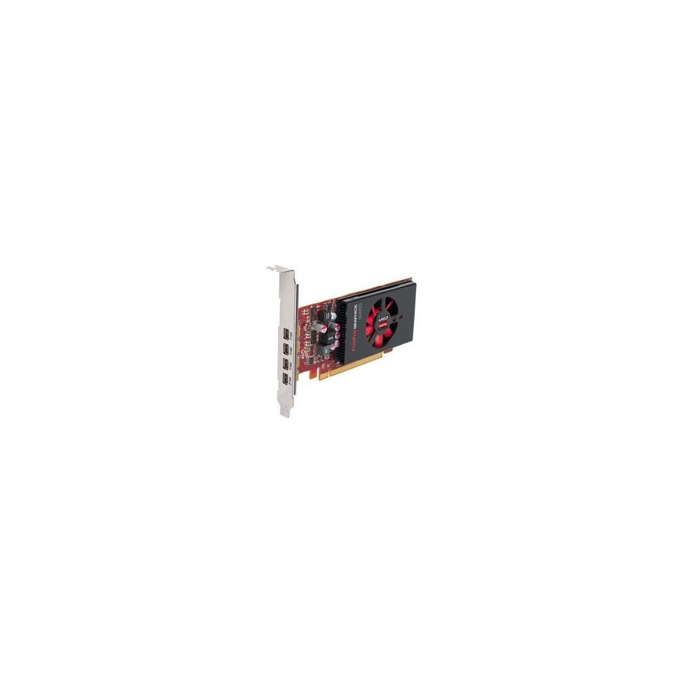 Amd Firepro W4100 Professional Graphics Card 2gb Ddr5 Pcie3 4x Minidp 1 2 Dvi Adapter Low Profile Bracket On Onbuy