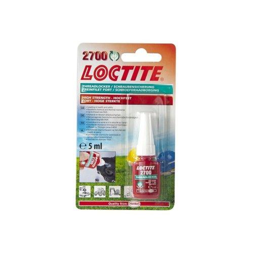 Loctite 2700 High-Strength Threadlocker - 5ml