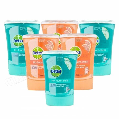 6pk Dettol Antibacterial Hand Wash | Mixed Scents