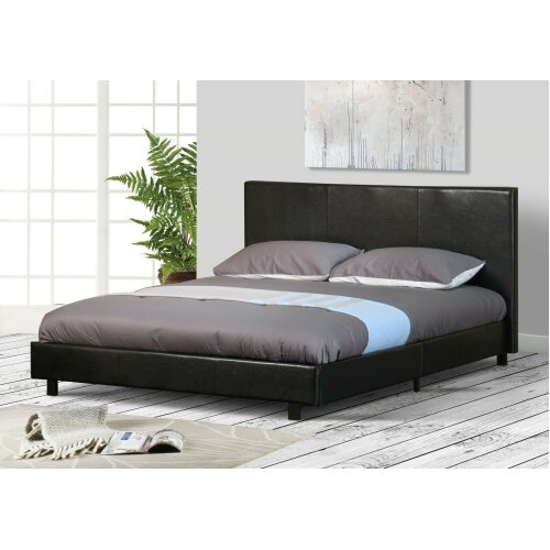 Easton Faux Leather Bed Frame with Tanya Mattress
