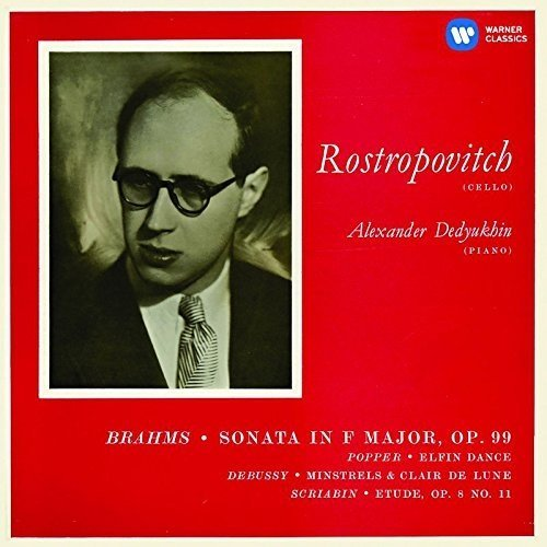 Mstislav Rostropovich - Brahms: Cello Sonata No. 2; Popper, Debussy, Scriabin [CD]