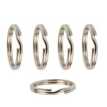 Split Rings in Sterling Silver - Diameter 8mm