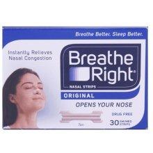 Breathe Right Nasal Strips Tan - 30 Small/Medium
