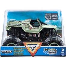 Monster jam Truck Die-Cast 1:24 Vehicle - Soldier Fortune