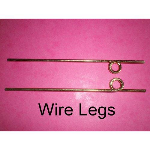 WIRE UNDERCARRIAGE LEGS Steel 145mm x 1 pair