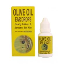 Olive Oil Ear Drops, Gently Softens & Removes Ear Wax 15ml