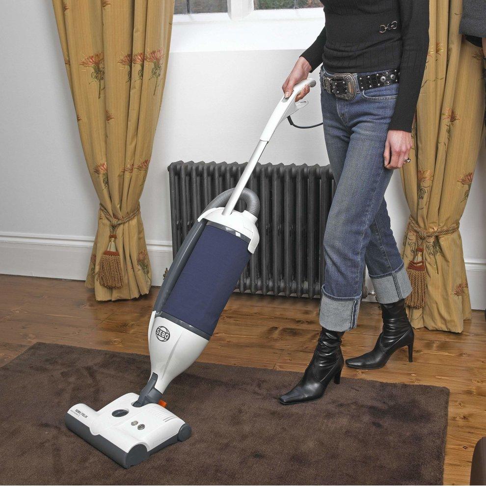 Sebo Felix Navy ePower Upright Vacuum