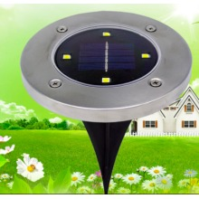 4 Led Solar Light Outdoor Ground Water-resistant Path Garden Landscape