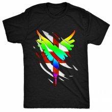 8TN Wings - Ripped Inside - England Fan - JP Mens T Shirt