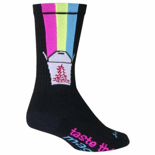 "Socks - Sockguy - 6"" Crew Magic Box L/XL Cycling/Running"