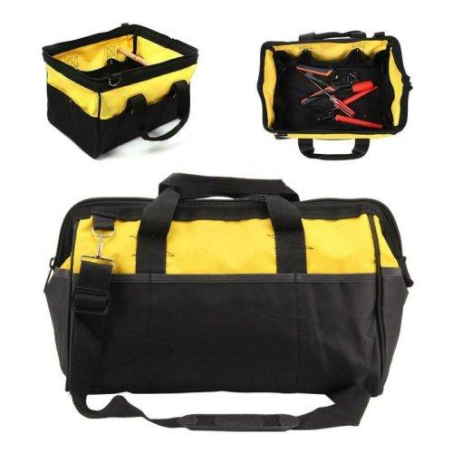 Tool Bag Hard Bottom Toolbag Heavy Duty Tool Case  Tools Storage Case
