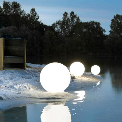 LED Outdoor Garden Landscape Light, Rechargeable Remote Control Swimming Pool Floating Ball