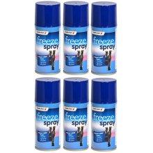 6 X 150ml Emergency Cold Freeze Massaging Spray Deep Muscular Fast Relief Sports