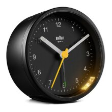 Analogue Alarm Clock Braun BC-12-B Black