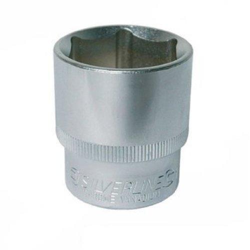 """Silverline Socket 1/2"""" Drive 6pt Imperial 15/16"""" - 12 1516 797958 Hex Steel Diy -  imperial socket drive silverline 12 1516 797958 hex steel diy tool"""