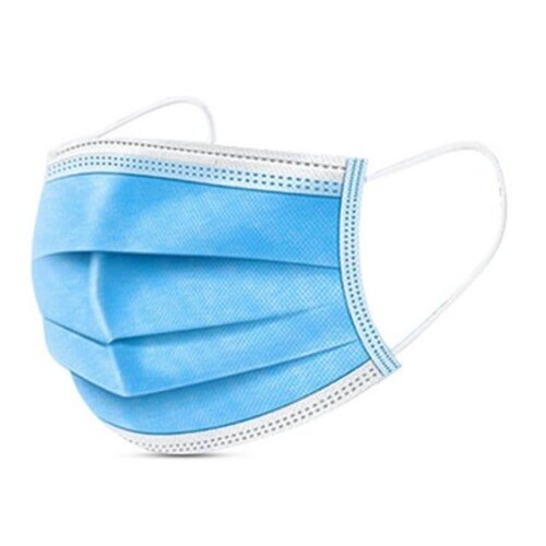 50pk 3-Layer Disposable Face Masks